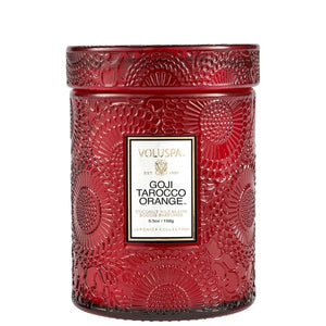 Voluspa Goji Tarocco Orange Small Jar Candle 5.5 oz