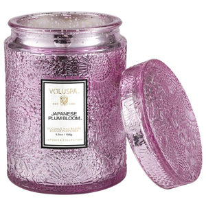 Voluspa Japanese Plum Bloom Small Jar Candle 5.5 oz