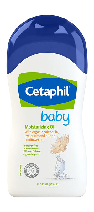 Cetaphil Baby Moisturizing Oil 13.5 Fl Oz