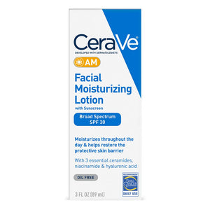 CeraVe Facial Moisturizing Lotion AM SPF 30 3 Oz