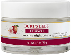Burt's Bees Renewal Night Firming Cream 1.8 oz.