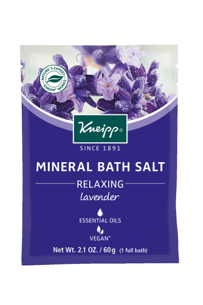 "Mini Lavender Mineral Bath Salt - ""Relaxing"""