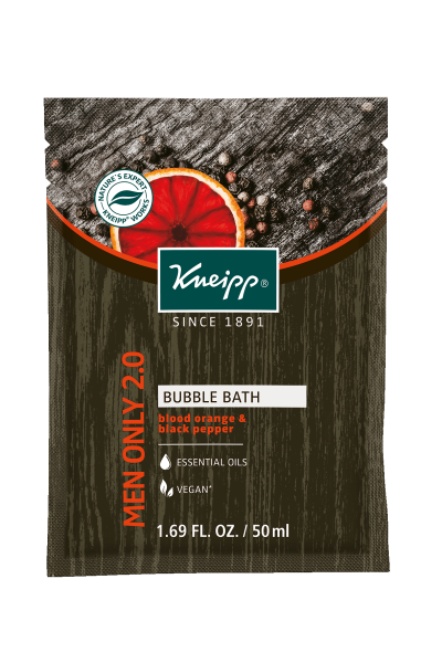 "Mini Blood Orange & Black Pepper Aromatherapy Bubble Bath - ""Men Only 2.0"""
