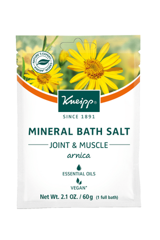 "Mini Arnica Mineral Bath Salt - ""Joint & Muscle"""