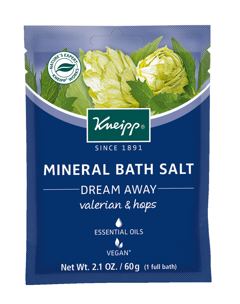 "Mini Valerian & Hops Mineral Bath Salt - ""Dream Away"""