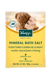 "Mini Vanilla, Macadamia & Honey Mineral Bath Salt - ""Everything's Gonna Be Alright"""