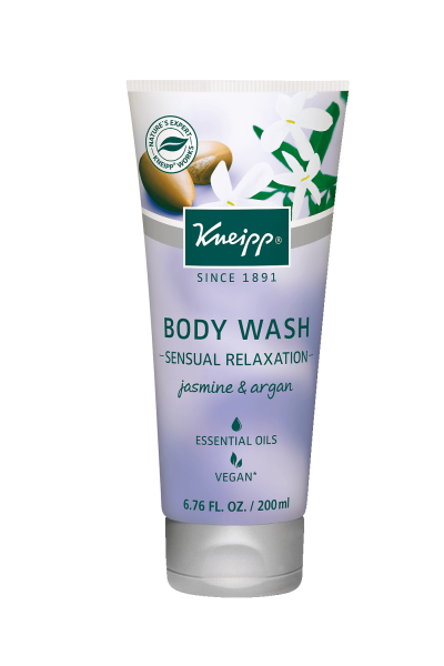 "Jasmine & Argan Body Wash - ""Sensual Relaxation"""