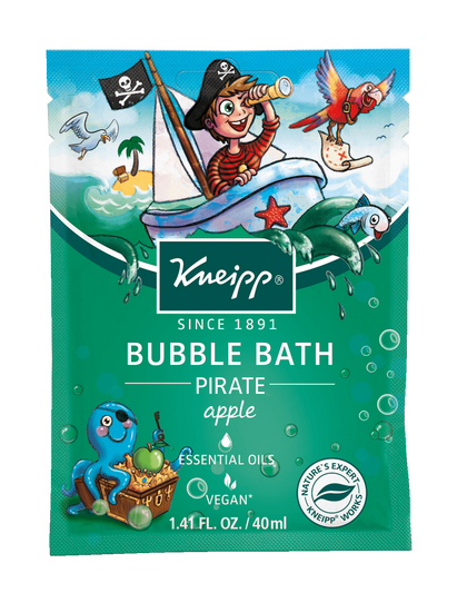 "Kneipp Apple Bubble Bath ""Pirate"" - For Kids"