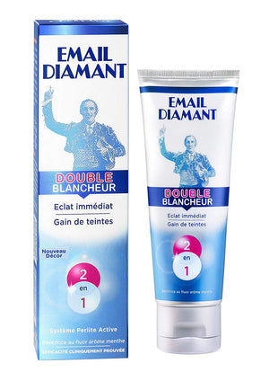 Email Diamant Dentifrice Double Blancheur