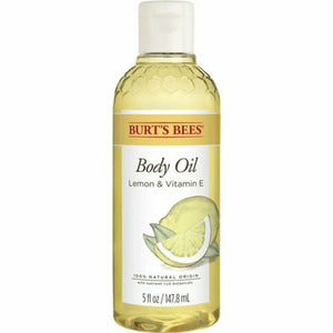 Burt's Bees Body Oil With Lemon And Vitamin E 5 oz