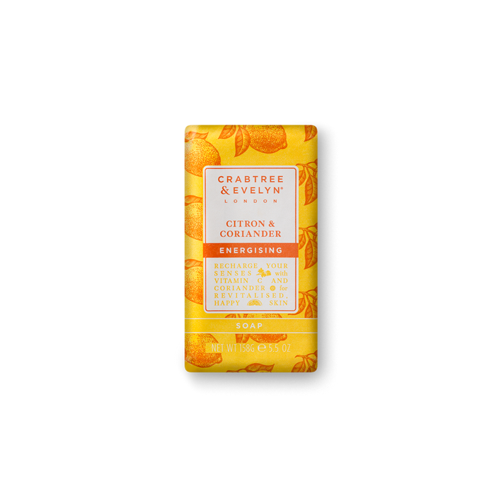 Crabtree & Evelyn Citron & Coriander Energising Soap 5.5oz