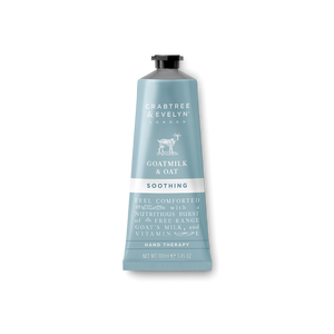 Crabtree & Evelyn Goatmilk & Oat Soothing Hand Therapy (Select Size)