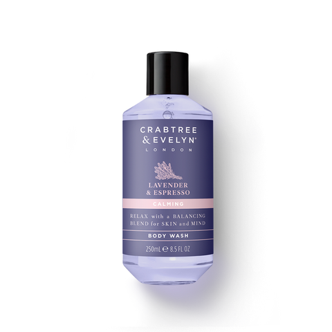 Lavender & Espresso Calming Body Wash