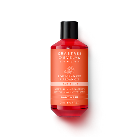 Crabtree & Evelyn Pomegranate & Argan Oil Nourishing Body Wash