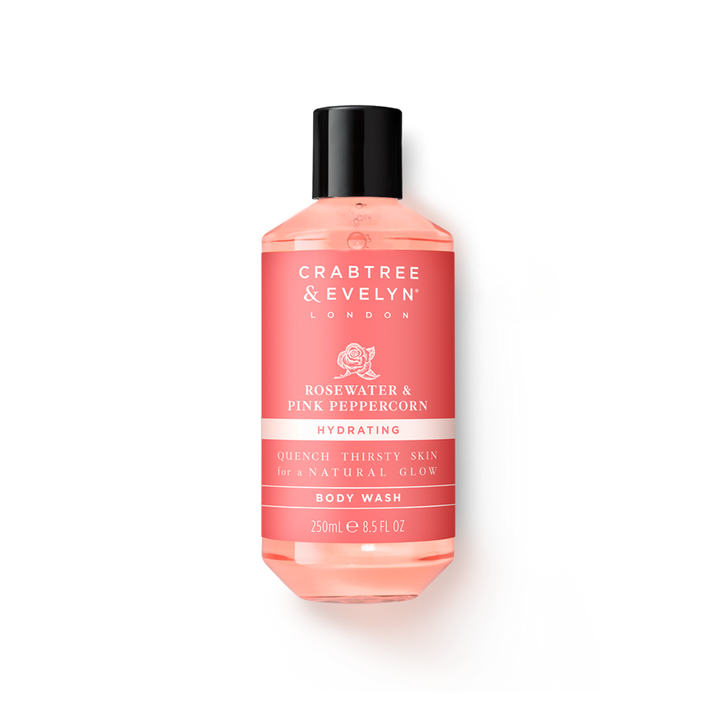 Crabtree & Evelyn Rosewater & Pink Peppercorn Hydrating Body Wash