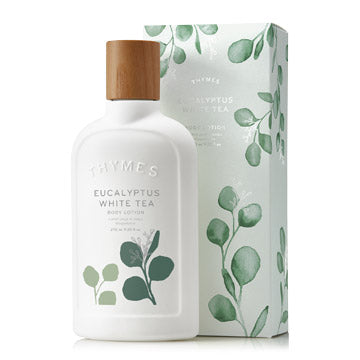 Thymes EUCALYPTUS WHITE TEA BODY LOTION 9.25 FL OZ / 270 ML