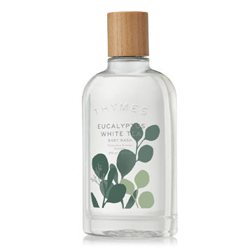Thymes EUCALYPTUS WHITE TEA BODY WASH 9.25 FL OZ / 270 ML