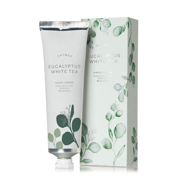 Thymes EUCALYPTUS WHITE TEA HAND CREME 3.0 FL OZ / 90 ML