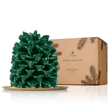 FRASIER FIR NORTHWOODS PINECONE LARGE CANDLE
