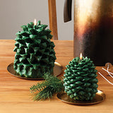 Thymes FRASIER FIR PINECONE PETITE CANDLE