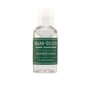 Barr-Co. Apothecary HONEY MINT HAND SANITIZER - 2 OZ