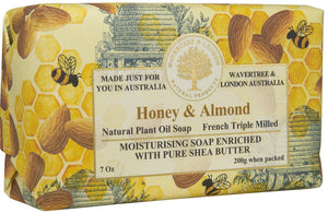 Wavertree & London Honey & Almond soap bar