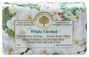 Wavertree & London White Orchid soap bar