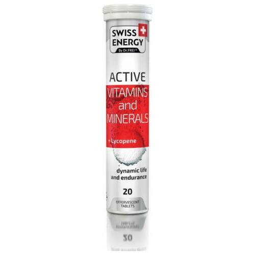 Swiss Energy Active Vitamin and Minerals Effervescent Tablets