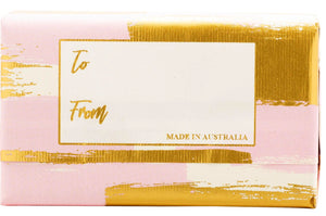Wavertree & London Celebrations - Thank You - Pink soap bar