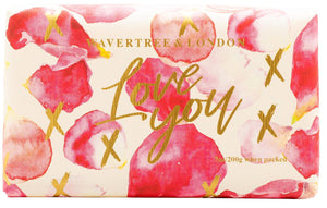 Wavertree & London Celebrations - Love You Petals soap bar