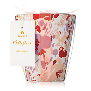 Thymes MILLEFLEUR FLOWER POT CANDLE