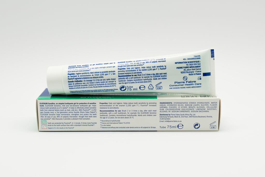 Elgydium Sensitive Toothpaste Gel 75 Ml