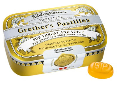 Grether's Pastilles Elderflower Sugar Free