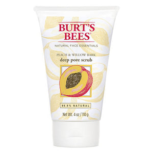 Burt's Bees Peach & Willow Bark Deep Pore Scrub