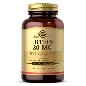 Lutein 20 mg Softgels