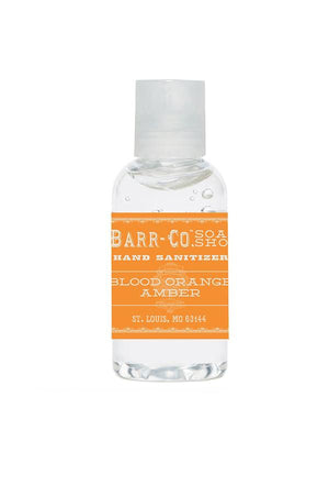 Barr-Co. Apothecary Blood Orange Amber SANITIZER - 2 OZ