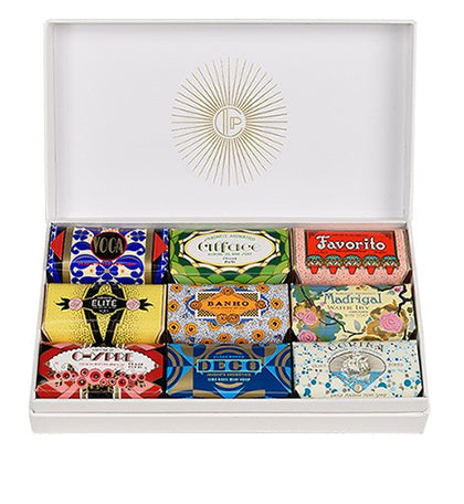 Claus Porto GIFT BOX DECO - 9 X 1,8 OZ.
