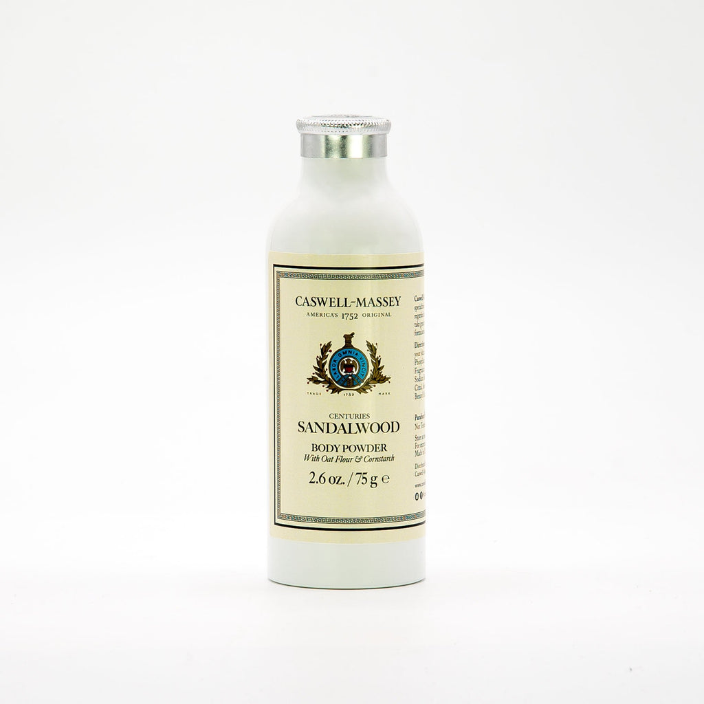 Caswell-Massey CENTURIES SANDALWOOD BODY POWDER
