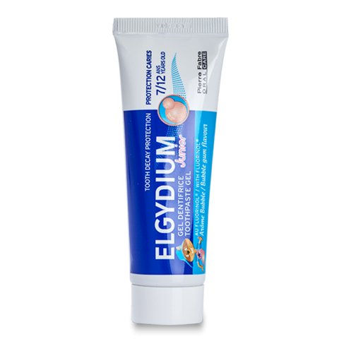 Elgydium Bubble Gum Toothpaste with Fluorinol for 7-12 Years Old Juniors 50 Ml