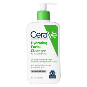 CeraVe Hydrating Facial Cleanser 12 Fl Oz