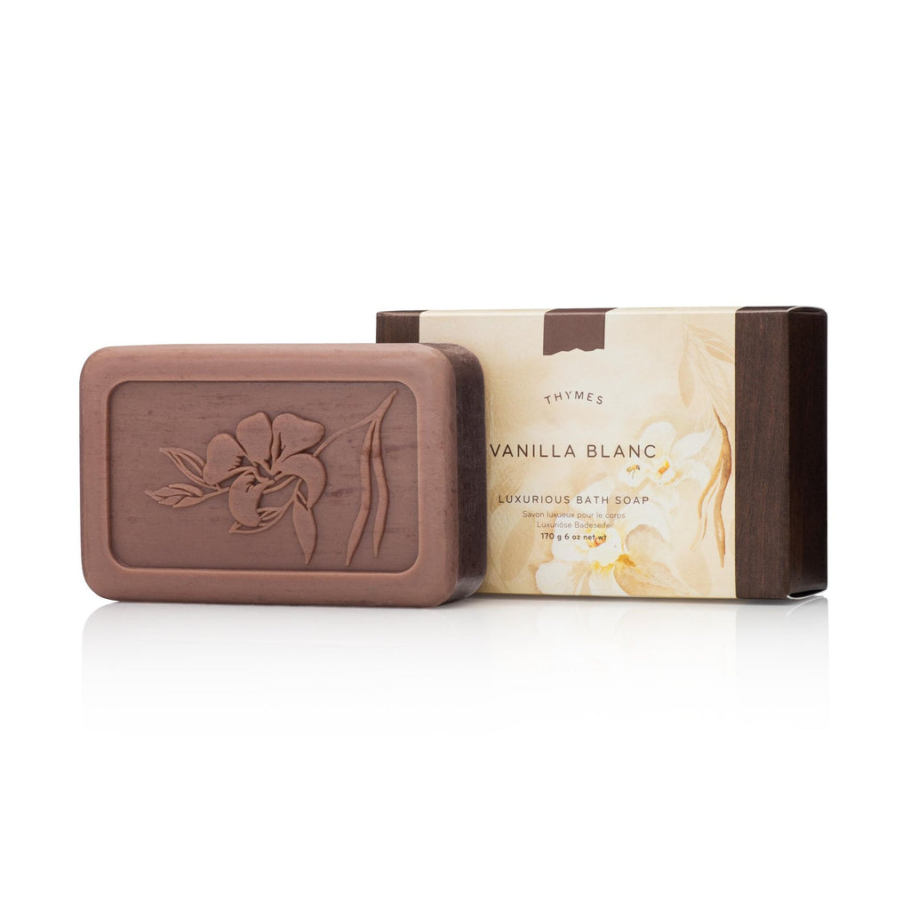 Thymes Vanilla Blanc Luxurious Bath Soap 6 oz