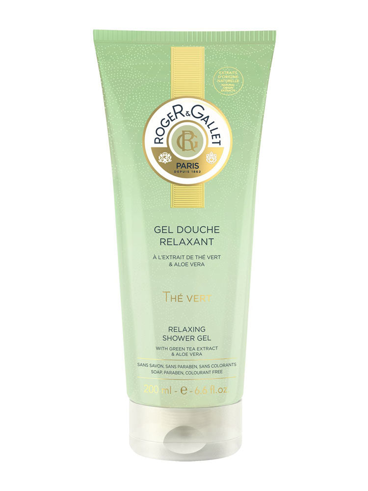 Roger & Gallet Green Tea (The Vert) Relaxing Shower Gel 200ml