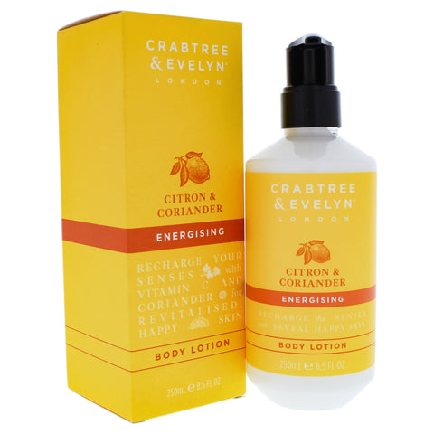 Crabtree & Evelyn Citron & Coriander Energising Body Lotion 250ml