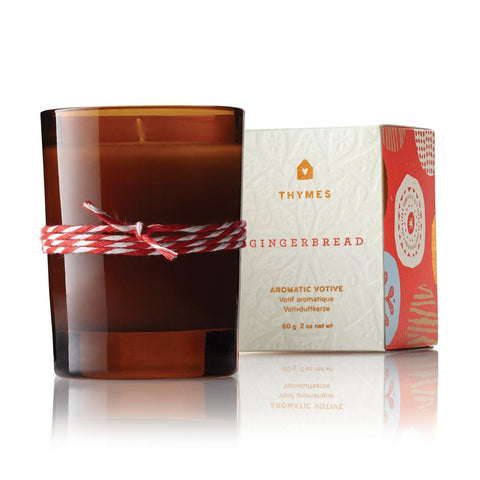 Thymes Gingerbread Votive Candle 2.5 oz
