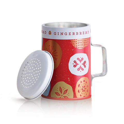 Thymes Gingerbread Tin Shaker Candle 7.5 oz