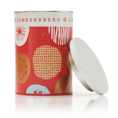 Thymes Gingerbread Tin Candle 10 oz
