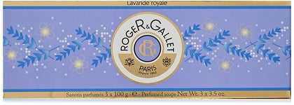 Roger & Gallet Lavander Royale Soap Pack of 3