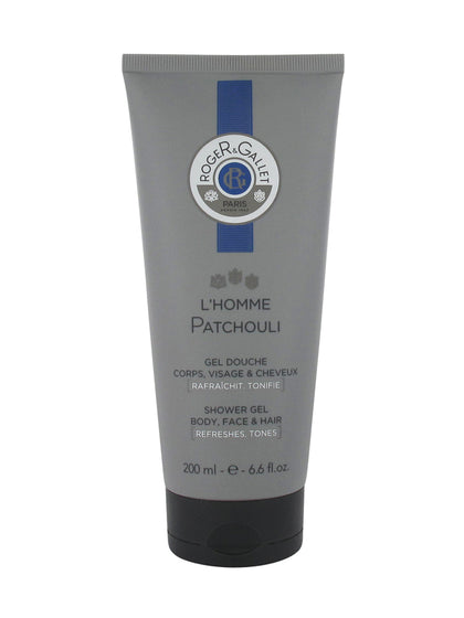 Roger & Gallet L'Homme Patchouli Hair Face and Body Shower Gel 200ml