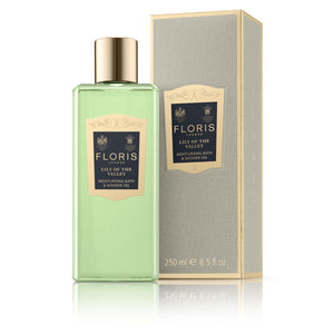 Floris London Lily Of The Valley Moisturising Bath & Shower Gel