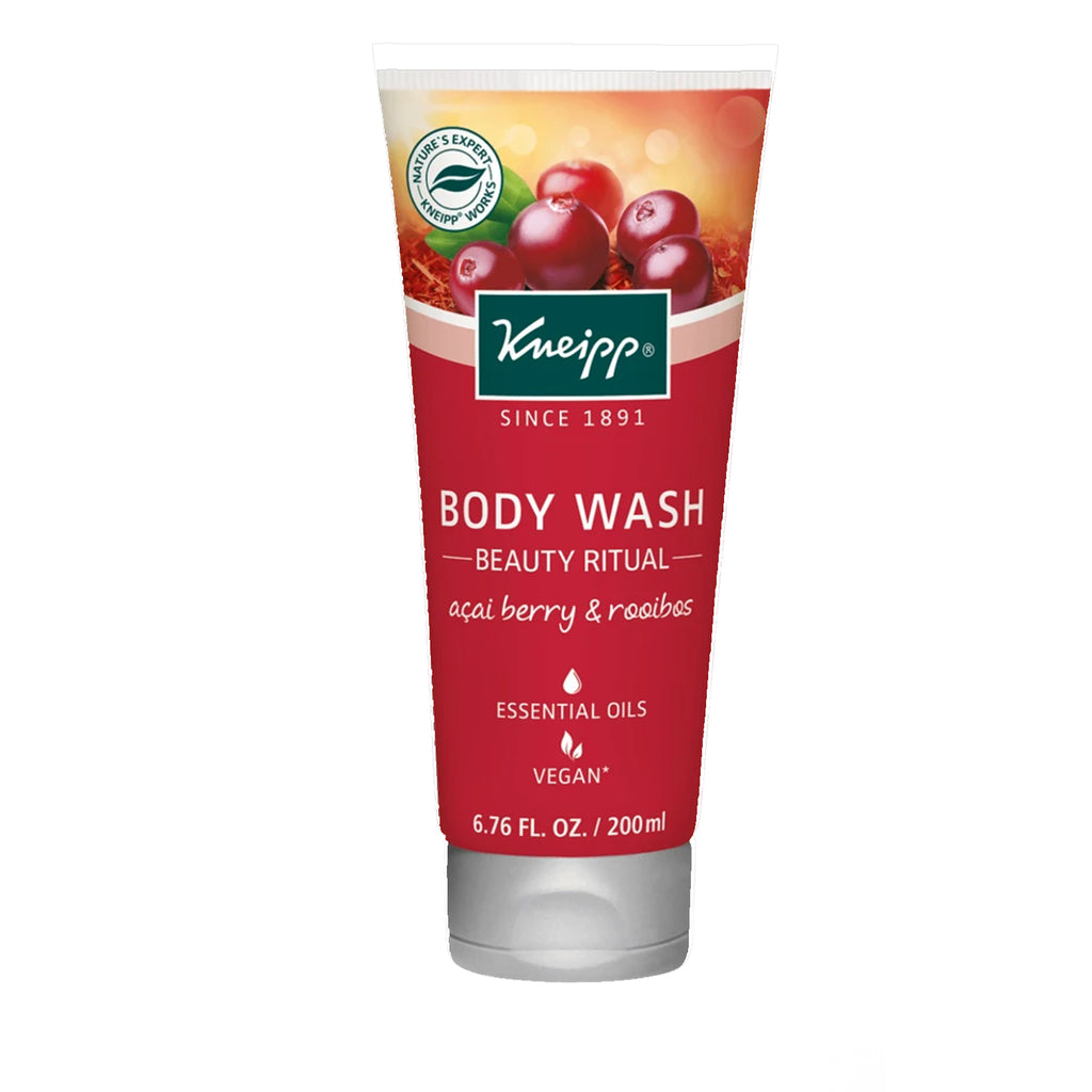 "Kneipp Acai Berry & Rooibos Body Wash - ""Beauty Ritual"""